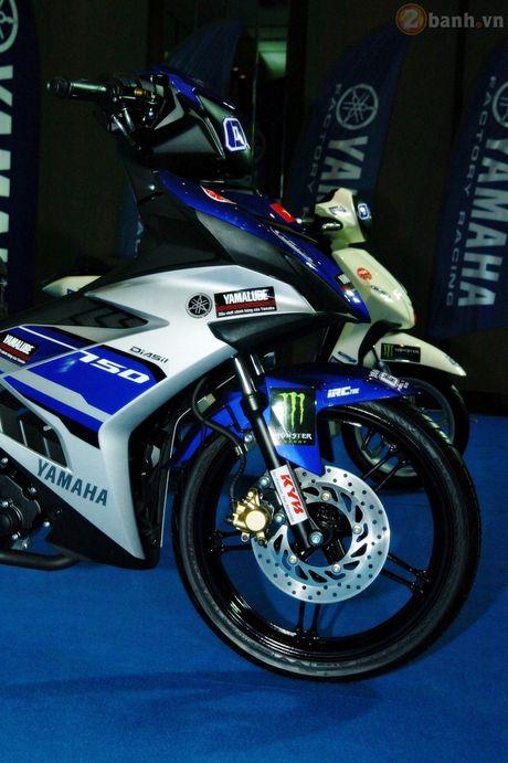 Soi 'xe dua' Exciter 150 chinh hang cua Yamaha Viet Nam - Anh 3