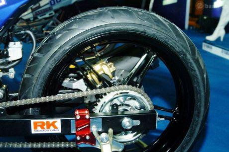 Soi 'xe dua' Exciter 150 chinh hang cua Yamaha Viet Nam - Anh 7