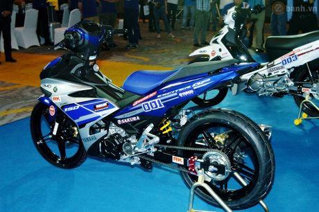 Soi 'xe dua' Exciter 150 chinh hang cua Yamaha Viet Nam - Anh 9