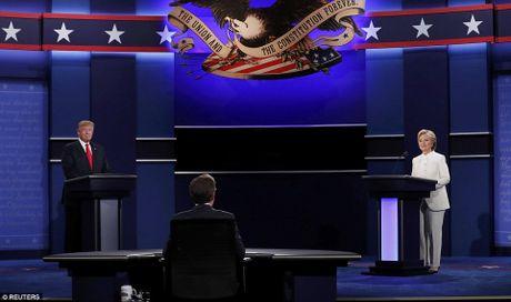 'Ke khoc, nguoi cuoi' sau cuoc tranh luan Clinton-Trump vong 3 - Anh 1