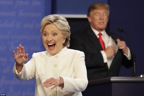 'Ke khoc, nguoi cuoi' sau cuoc tranh luan Clinton-Trump vong 3 - Anh 2