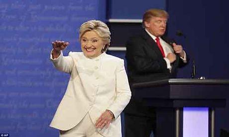 'Ke khoc, nguoi cuoi' sau cuoc tranh luan Clinton-Trump vong 3 - Anh 3