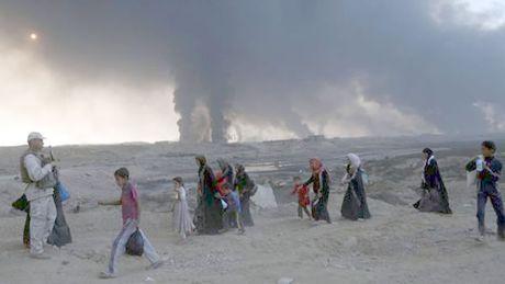 Iraq: Hang ngan nguoi di tan khoi Mosul - Anh 1