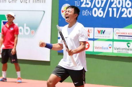 Ly Hoang Nam dung tay vot hang 577 the gioi o tu ket giai Vietnam F7 Futures - Anh 1
