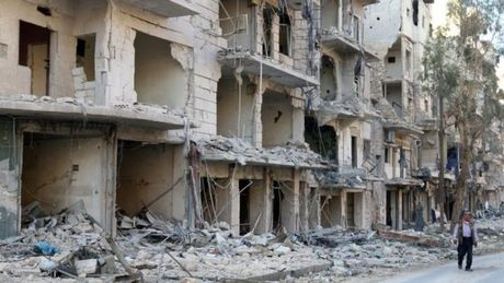 Bat dau 8 gio ngung ban o Aleppo - Anh 1
