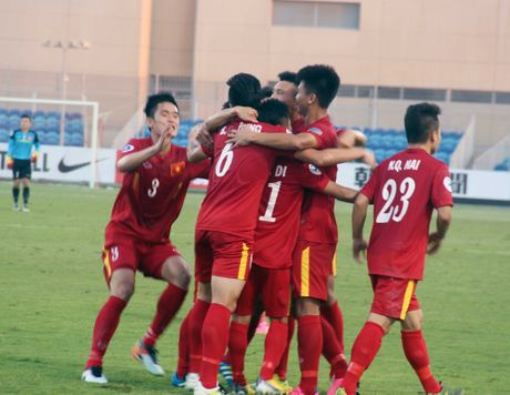U19 Viet Nam vs U19 Iraq 23h00 ngay 20/10: Rat gan va rat xa - Anh 1