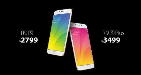 OPPO ra mat R9s va R9s Plus, Android 6, RAM tu 4-6 GB, camera 16 MP, gia tu 415 USD - Anh 6