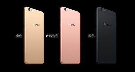 OPPO ra mat R9s va R9s Plus, Android 6, RAM tu 4-6 GB, camera 16 MP, gia tu 415 USD - Anh 7