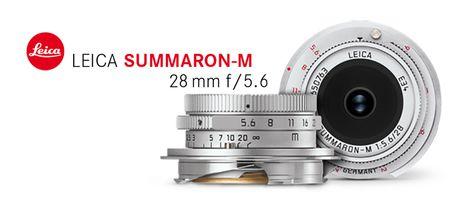 Leica hoi sinh dong ong kinh huyen thoai L-mount Summaron 28mm f/5.6 danh rieng cho dong Leica M - Anh 1