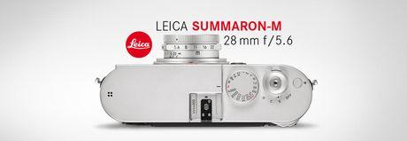 Leica hoi sinh dong ong kinh huyen thoai L-mount Summaron 28mm f/5.6 danh rieng cho dong Leica M - Anh 7