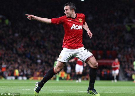 "Van Persie ""da deu"" Mourinho ngay tro lai M.U - Anh 5"