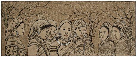 Cuc nhu sang tac tranh khac go - Anh 2