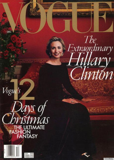 Tap chi thoi trang Vogue pha vo truyen thong ung ho ba Clinton - Anh 1
