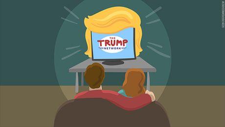 Tin cam chac chien thang, ty phu dia oc dinh lap kenh Trump TV - Anh 1