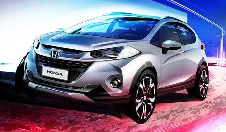 Honda WR-V – compact SUV 'dan em' HR-V va CR-V - Anh 1