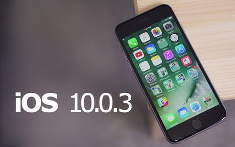 Apple phat hanh iOS 10.0.3 danh rieng cho iPhone 7 - Anh 1