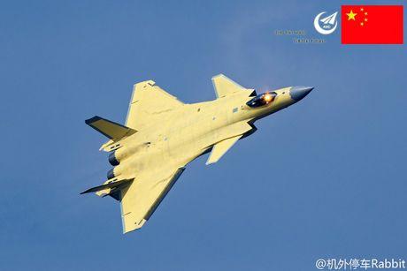 Tiem kich tang hinh J-20 Trung Quoc bat ngo co dien mao moi - Anh 1