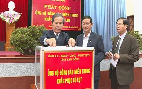 Lam Dong da gop duoc 2 ty dong ung ho dong bao vung lu - Anh 1