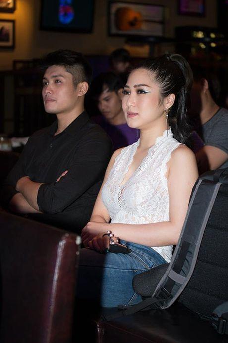 Quang Vinh, Huong Tram tuoi tan den chuc mung Trinh Thang Binh - Anh 7
