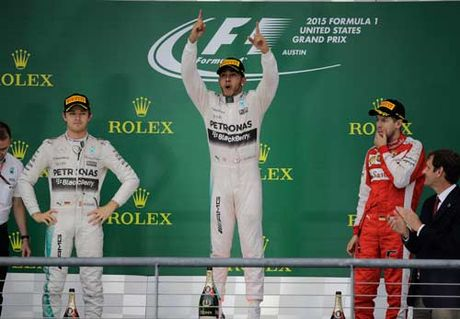 "F1, United States GP: Rosberg - Hamilton ""da chung ket"" - Anh 1"