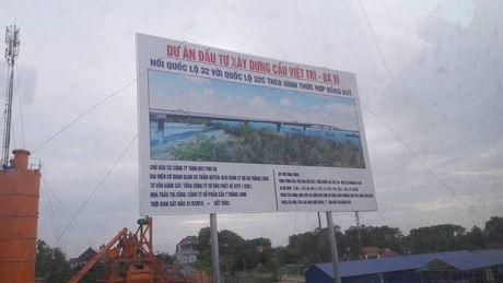 Cong ty CP Cau 7 Thang Long: Dung 'cat tac' xay dung cau Viet Tri- Ba Vi? - Anh 1