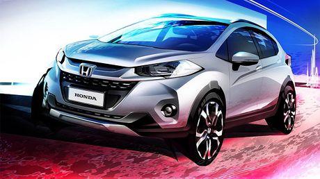 Honda he lo mau crossover WR-V moi cuc ki hap dan - Anh 1