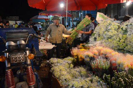 Cho hoa dem Quang Ba tap nap nhan Ngay Phu nu Viet Nam - Anh 1