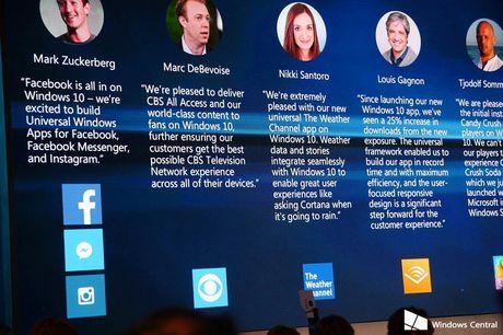 Facebook va Messenger tren Windows 10 Mobile yeu cau toi thieu 2GB RAM - Anh 1