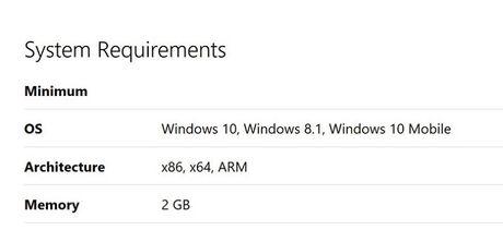 Facebook va Messenger tren Windows 10 Mobile yeu cau toi thieu 2GB RAM - Anh 2