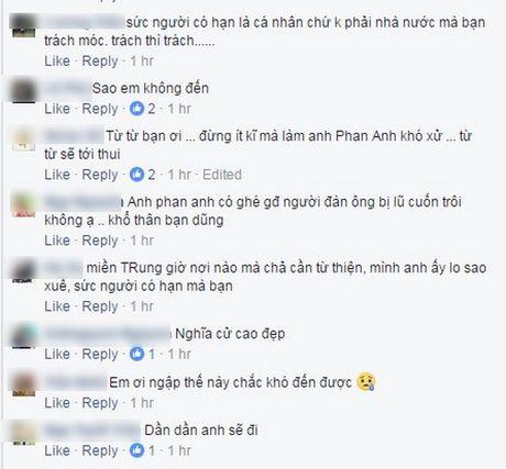 Phan Anh len tieng khi bi che tu thien sai cho, Thuy Tien cong khai tien ung ho khung - Anh 10