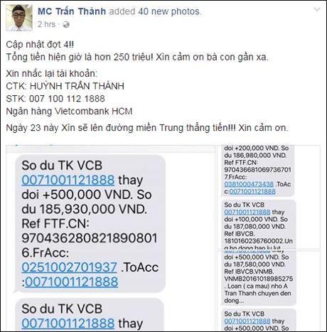 Phan Anh len tieng khi bi che tu thien sai cho, Thuy Tien cong khai tien ung ho khung - Anh 16
