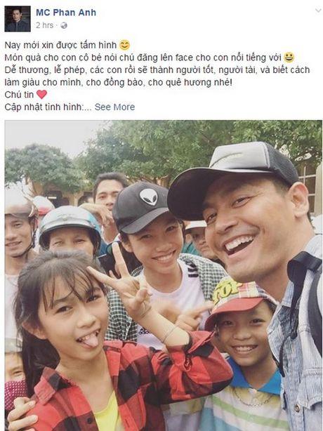 Phan Anh len tieng khi bi che tu thien sai cho, Thuy Tien cong khai tien ung ho khung - Anh 3