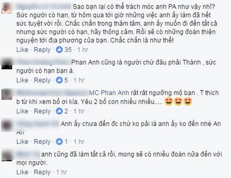 Phan Anh len tieng khi bi che tu thien sai cho, Thuy Tien cong khai tien ung ho khung - Anh 7