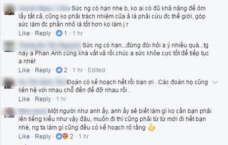 Phan Anh len tieng khi bi che tu thien sai cho, Thuy Tien cong khai tien ung ho khung - Anh 9