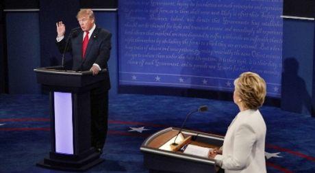 Ong Trump va ba Clinton noi gi trong cuoc tranh luan cuoi cung? - Anh 1