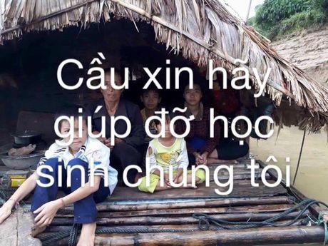 Thuy Tien khoc nhu mua khi doc thu cua co giao tu vung lu - Anh 3
