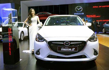 Trieu hoi them hon 4.800 chiec Mazda2 tai Viet Nam - Anh 1