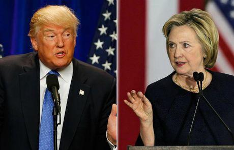 Trump - Clinton chuan bi buoc vao cuoc tranh luan lan 3 - Anh 1