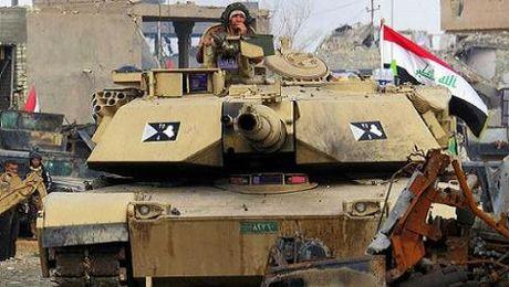 Quan doi Iraq giai phong 350 km2 dien tich lanh tho o Mosul - Anh 1