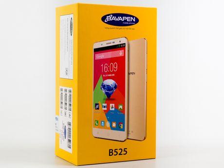 Can canh smartphone Bavapen B525 gia duoi 2 trieu dong - Anh 2