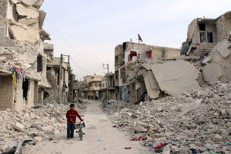 Chien su Syria: Nga bi nghi 'giang bay' va chuan bi san phang Aleppo - Anh 3