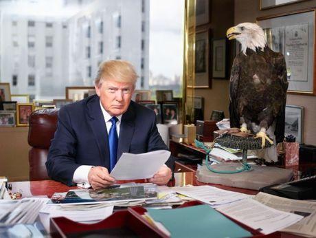 Cau chuyen dang sau nhung buc anh bieu tuong cua Donald Trump - Anh 11