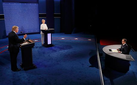 Nhung net chinh trong cuoc tranh luan cuoi giua Hillary va Trump - Anh 1