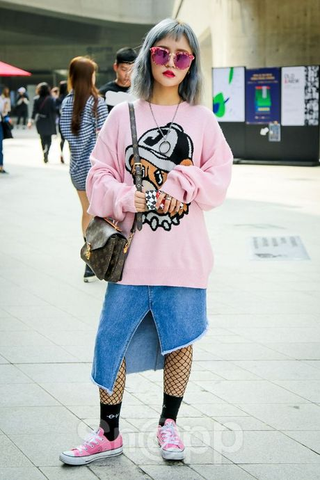 Ngay 2: Min tiep tuc chiem che trong top street style dinh nhat cung dan fashionista Han - Anh 10