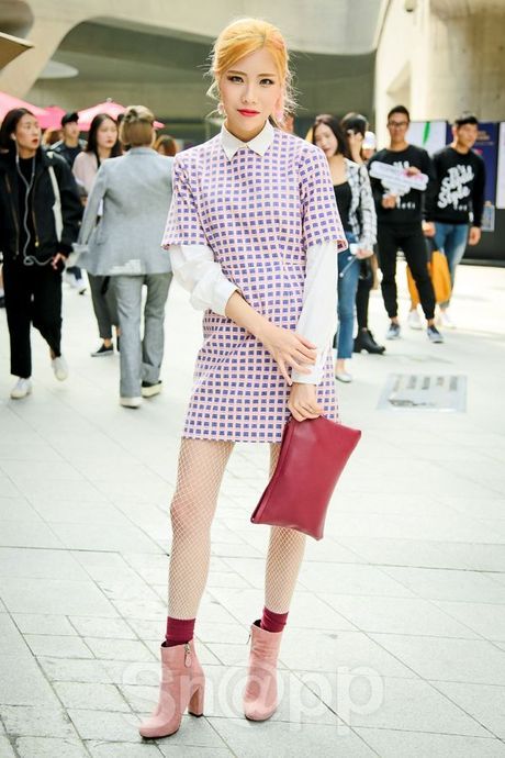 Ngay 2: Min tiep tuc chiem che trong top street style dinh nhat cung dan fashionista Han - Anh 11