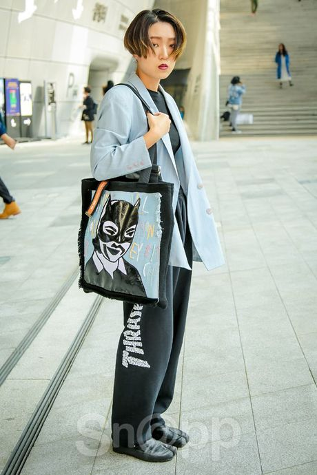 Ngay 2: Min tiep tuc chiem che trong top street style dinh nhat cung dan fashionista Han - Anh 12