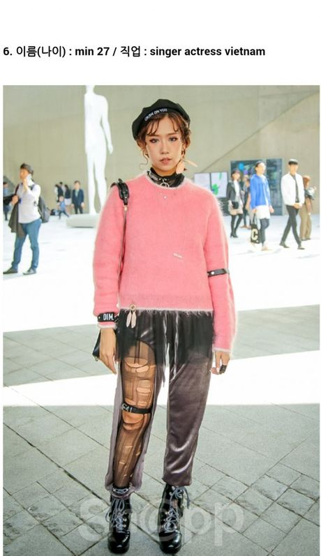 Ngay 2: Min tiep tuc chiem che trong top street style dinh nhat cung dan fashionista Han - Anh 2