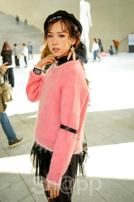 Ngay 2: Min tiep tuc chiem che trong top street style dinh nhat cung dan fashionista Han - Anh 3