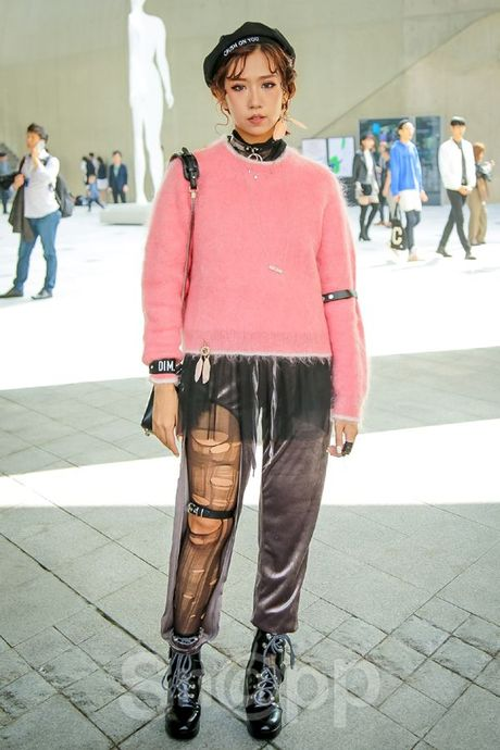 Ngay 2: Min tiep tuc chiem che trong top street style dinh nhat cung dan fashionista Han - Anh 4