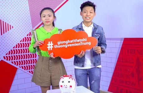 Thang - Nhi, Noo Phuoc Thinh, Vu Cat Tuong chung tay cung hoc tro 'Thuong ve mien Trung' - Anh 9